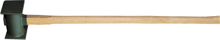 Afbeeldingen van Talen Tools Tuinhamer ijzeren steel 90cm hamer 30 x 12cm