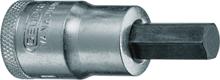 """Afbeeldingen van Dopsleutel-schroevendraaier 1/2"""" tbv binnenzeskant-schroeven"""