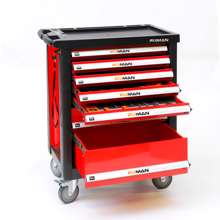 Afbeeldingen van Fixman gereedschapswagen 7-laden gevuld